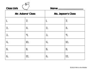 FREE Back to School ELA Center Alphabetizing Activity for Upper Elementary