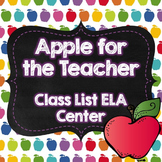 FREE Back to School ELA Center Alphabetizing Activity for