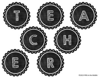 Apple for the Teacher - Back to School ELA Centers