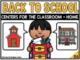 Back to School ELA Centers for the Classroom + Home