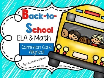 Back-to-School ELA & Math Centers