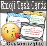 Back to School EMOJI Task Cards!