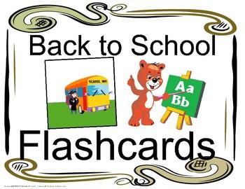 Back to School ESL Flashcards