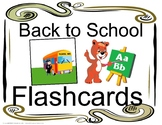 Back to School ESL Flashcards