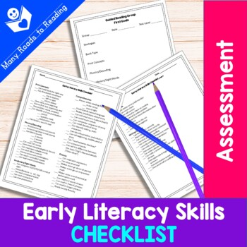 Checklist: Early Literacy Skills