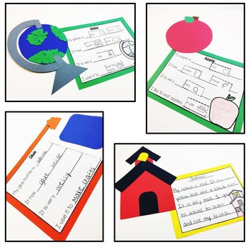 Back to School Easy Art Pack: Adapted Art Activities and Writing Pages