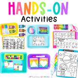 Back to School Easy Prep Centers | Fine Motor, Literacy, & Math