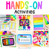 Back to School Hands-On Activities, Morning Tubs, Work Tra