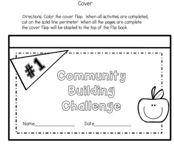 Back to School Community Building  in Your Classroom: Editable Activity