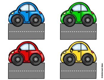 Back to School Editable Bulletin Board Set - Car Theme