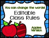 Editable Class Rules - Apples Theme