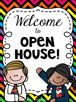 Back to School! {Editable} Open House Forms and Organizational Goodies!