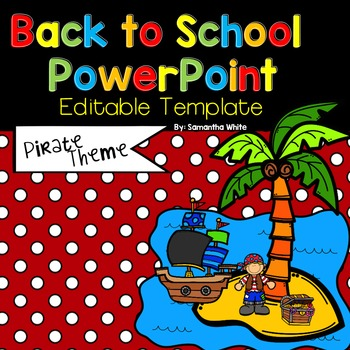 Back to school editable powerpoint pirate theme by samantha white back to school editable powerpoint pirate theme toneelgroepblik Images