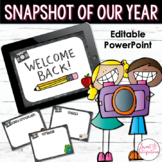 BACK TO SCHOOL Editable PowerPoint Presentation (updated)