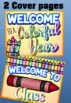 Back to School Editable PowerPoint Presentation {Crayons)