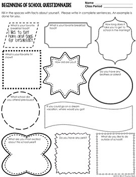 Back to School Editable Stations Activity - Character Education