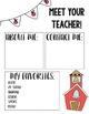 Back to School Editable Templates