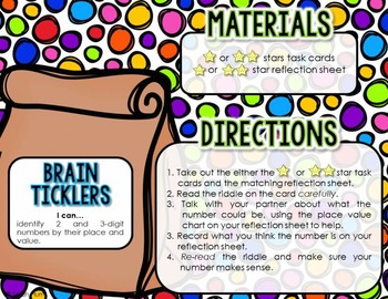 Back-to-School Edition {Place Value - Common Core-Aligned Centers}