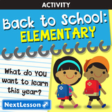 Back to School: Elementary School Unit