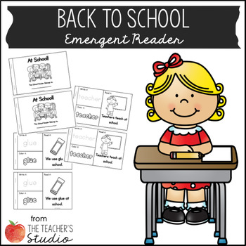 Back to School Emergent Reader
