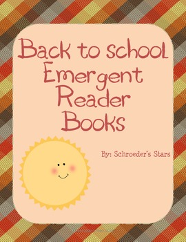 Back to School: Emergent Reader Books