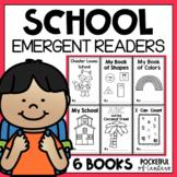 Back to School Emergent Readers for Kindergarten BUNDLE