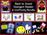 Back to School Emergent Reader & Craftivity Bundle