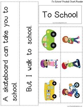 Back to School Emergent Reader Set