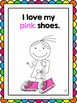 "Back to School Emergent Reader featuring colours:  ""I Love my Shoes"" (Canadian)"