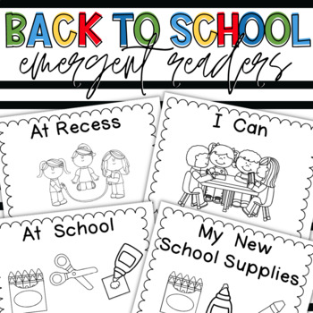 Back-to-School Emergent Readers