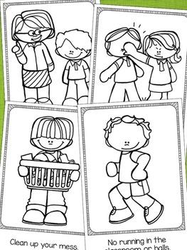 Back to School Activities - 2 Pack Emergent Readers