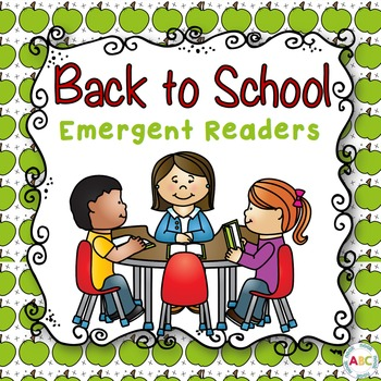 Back to School Emergent Readers