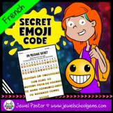 Back to School Emoji Activities (Emoji Code Back to School Activities in FRENCH)