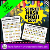 Back to School Emoji Activities (Mask Emoji Back to School