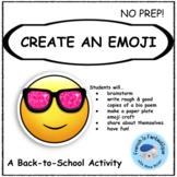 Back-to-School Emoji Craft project (French and English)