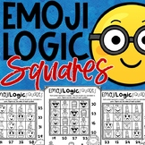 Emoji Back to School Math Logic Puzzles