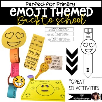 Back to School Emoji Pack