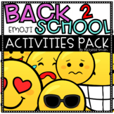 Back to School Emoji Pack (Writing, Games, Book, and Bulle