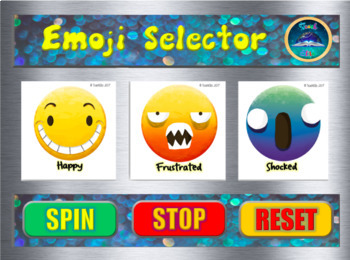 Back To School :Emoji Selector