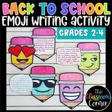 First Day of School Emoji Writing Activity