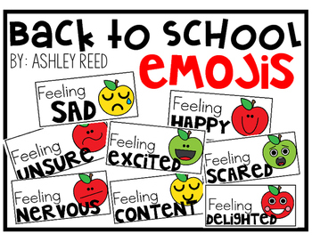 Back to School Emojis FREEBIE