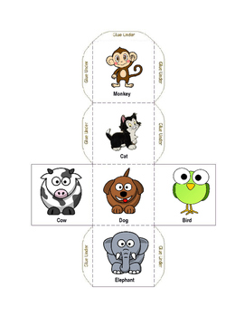 Back to School Emotional Dice Game
