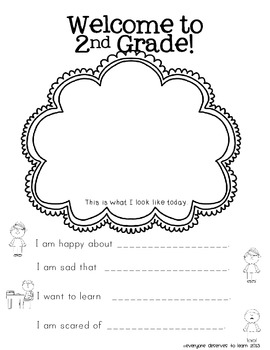 Back to School Writing Prompts Grades 1-5