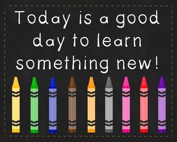 Encouragement Poster, Back to School