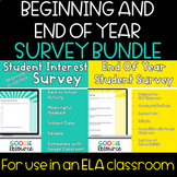 Back to School/End of Year Survey Bundle - Google Forms