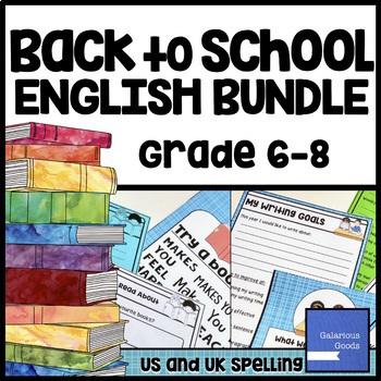 Back to School English Language Arts (ELA) Bundle