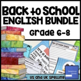Back to School English Language Arts (ELA) Bundle