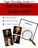 Back to School Escape Room