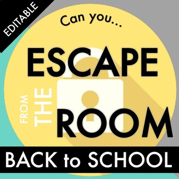 Back to School Escape Room