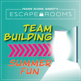 NO PREP Back to School Escape Room~Beginning of Year Activ